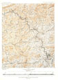 North Carolina Tennessee Cumerberland Blue Ridge 1889