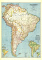 South America Map 1942