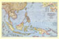 Southeast Asia and the Pacific Islands Map 1944