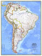 South America Map 1972