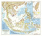Southeast Asia Map 1955