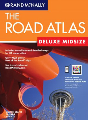 Rand McNally USA, Canada, Mexico Deluxe Midsize Road Atlas