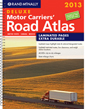 Rand McNally USA, Canada, Mexico Deluxe Motor Carriers Road Atlas