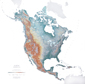 North America Wall Map