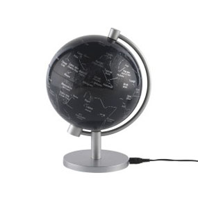 5 inch Illuminated Star Globe