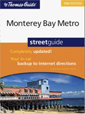 Thomas Guide Monterey Bay Metro, California