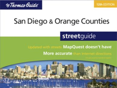 Thomas Guide San Diego Orange County, California
