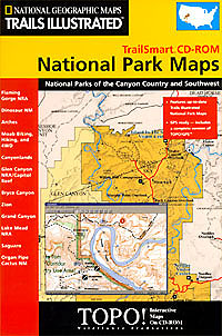 National Geographic National Park Southwest CD ROM