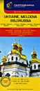 Ukraine, Belorussian and Western Russia Travel Map