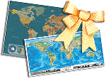 Wall Map Gifts