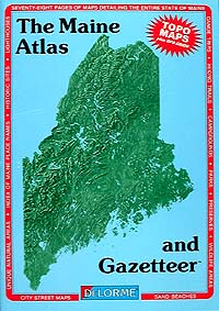 Maine State Atlas & Gazetteer
