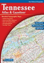Tennessee State Atlas & Gazetteer