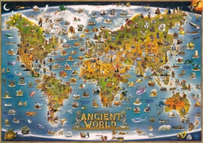 Dinos Illustrated Map of the Ancient World