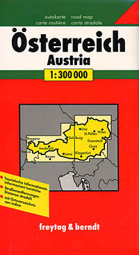 Austria Travel Map