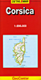 Corsica Travel Map