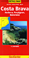 Costa Brava Travel Map