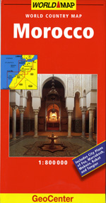 Morocco Travel Map