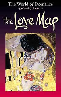World of Romance Love Travel Map
