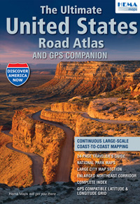 The Ultimate United States Road Atlas By HEMA Maps From Mapscom - Usa road atlas
