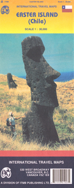 Easter Island, Pacific Ocean Travel Map
