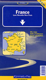France Travel Map