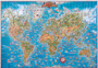 Children's World Wall Map
