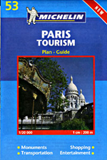 Paris Tourism, France Street Map