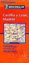 Spain, Castilla, Leon, Madrid Travel Map