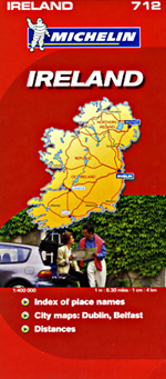 Ireland Travel Map