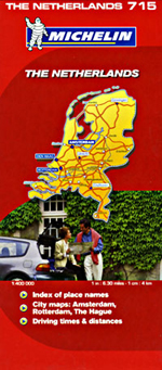 Netherlands Travel Map