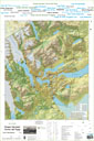 Torres del Paine Wall Map Digital Map