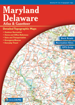 Maryland Delaware Atlas and Gazetteer