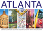 Atlanta, PopOut Street Map