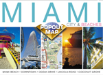 Miami, Florida PopOut Street Map