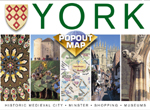 York PopOut Street Map