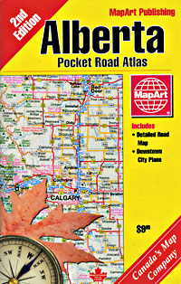 Alberta Road Atlas