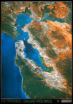 San Francisco Satellite Map
