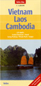 Laos and Cambodia Travel Map