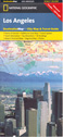 National Geographic Los Angeles, CA Destination Map
