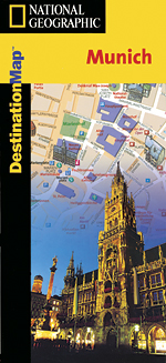 National Geographic Munich Destination Map