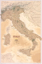 National Geographic Italy Executive Wall Map