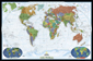 National Geographic Decorator World Wall Map