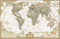 National Geographic Executive World Wall Map
