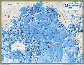 pacific ocean depth map  National Geographic Pacific O...