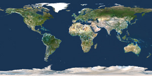 World Satellite Digital Map