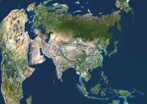 Asia Satellite Digital Map By Planet Observer From Mapscom - Asia satellite map