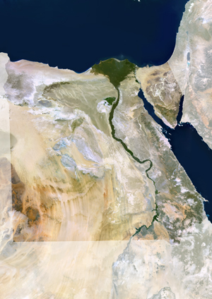 Egypt Satellite Digital Map