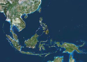Southeast Asia Satellite Digital Map By Planet Observer From Mapscom - Asia satellite map