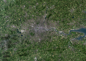 London, Satellite Digital Map