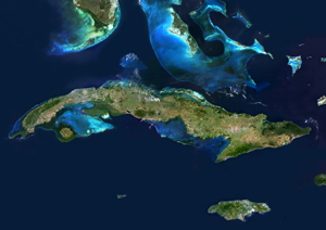 Cuba Satellite Digital Map